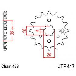 ΓΡΑΝΑΖΙ ΚΙΝ. 417 - 14 ΔΟΝΤΙΑ JT [B]